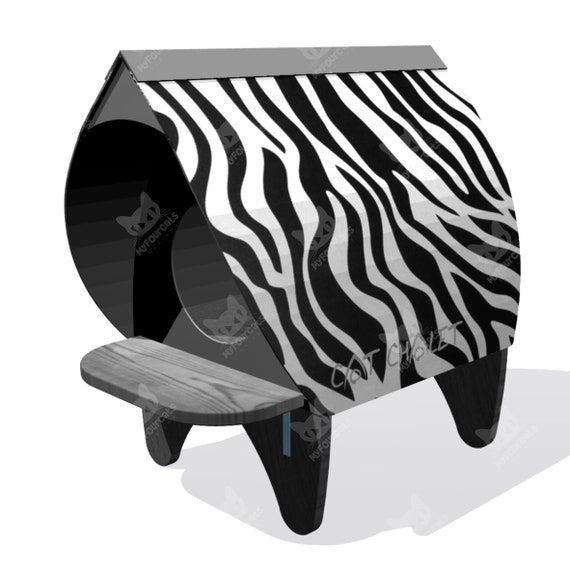 Cat Chalet Cat Shelter outdoor Cat bed cat house cat furniture play furniture cat cave