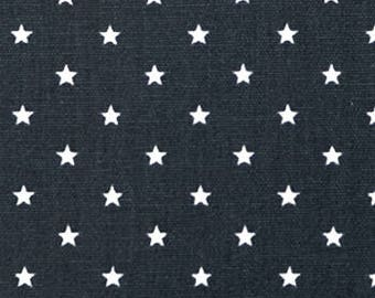"Premier Prints Fabric-Mini Star-Gunmetal-or-Choice of 23 Colors -54"" wide-Decorator Cotton-Fabric By The Yard"