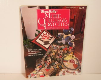 Simplicity More Quilts And Patches Book