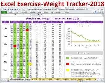 exercise spreadsheet