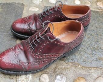 """BARKER""""-handmadeshoe, A mano scarpa classica, dimensione 7 1/2, buone condizioni, ben mantenuto"""