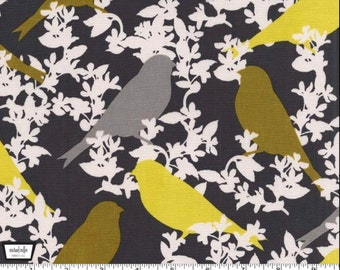 Seedling - Goldfinch Yellow Mustard by Thomas Paul from Michael Miller