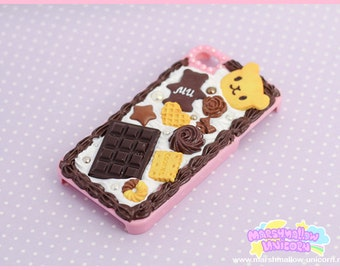 SALE Chocolate Dream iphone case sweet and kawaii iphone 4/4s iphone 5/5s