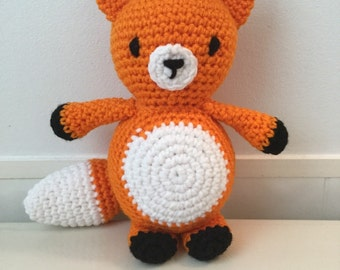 Made to Order: Crochet Amigurumi Orange Fox Doll