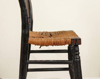 Early Miniature Antique Childs Chair