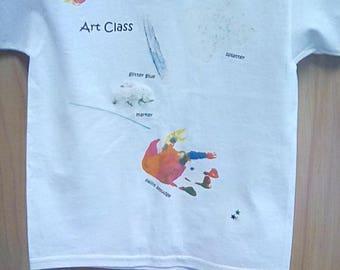 I love Art Dirtee-Shirt T-Shirt