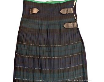 Black Watch Kilt - Traditional Tartan - British Army Traditional Scots - E483