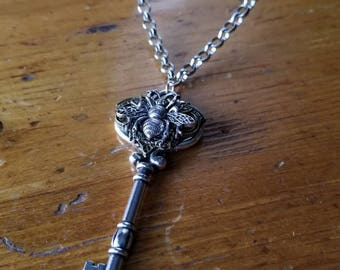 Bee Key Necklace