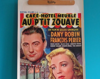 Film Movie Poster Afffiche, original from the 50s, vintage
