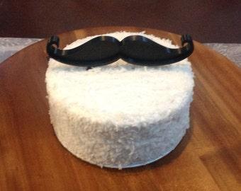 Mustache cake topper Etsy