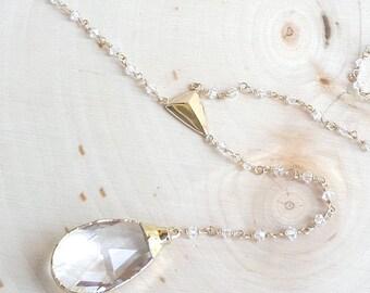 Swarovski Crystal Lariat