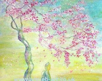 BUDDHA wall art. Meditation art. Zen wall art. Buddha painting. Buddha art print.