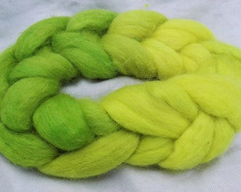 Silage Season - Hand Dyed 100% Wool Roving. Perfect for Spinning or Felting. *MADE TO ORDER*