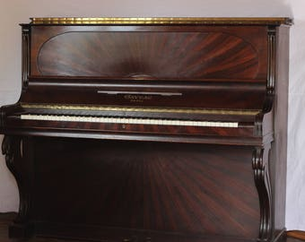 Upright piano Gaveau Sun