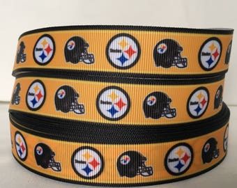 5 YDS Pittsburgh Steelers Ribbon