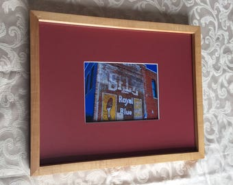Framed Shoe Store Ghost Sign Print