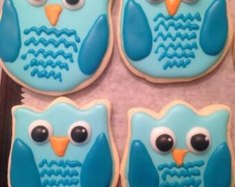 Owl cookies -1 dozen