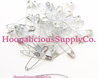 45mm Safety Pins. Available in Gold or Silver. You Choose Quantity. Safety Pin Movement. Be a safe place for others.  FAST SHIPPING.