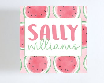 Watermelon Gift Tag // Calling Card
