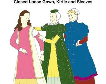 Elizabethan Loose Gown