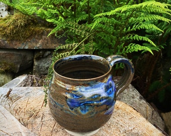 Pottery stoneware mug cup  assorted colour