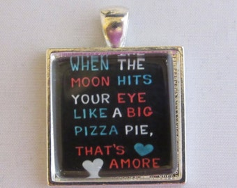 When The Moon Hits Your Eye Necklace