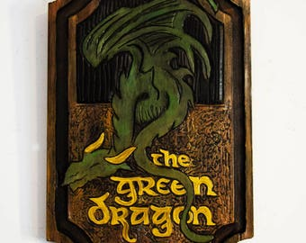 The Green Dragon Sign