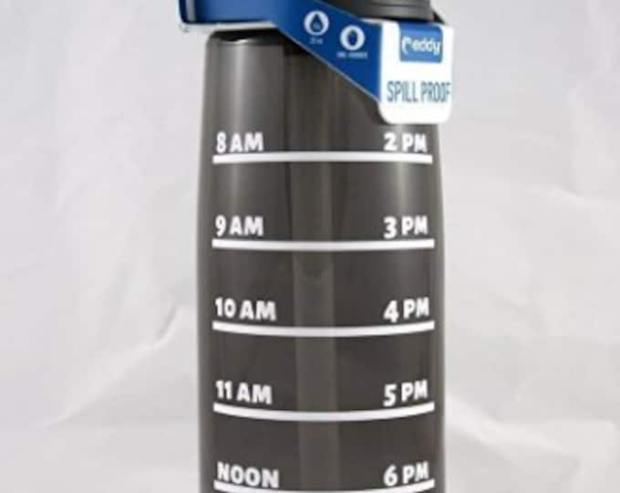 Daily Water Tracker CamelBak ® Water Bottle -Bottle, Water Intake, Water Measurements, Drink Water, Motivation,Water Consumption Time-.75L