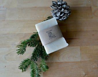 Handmade Soap - Vegan Shea Butter Soap - Cedar Peppermint