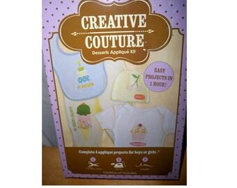 Creative Couture - Desserts Applique Kit
