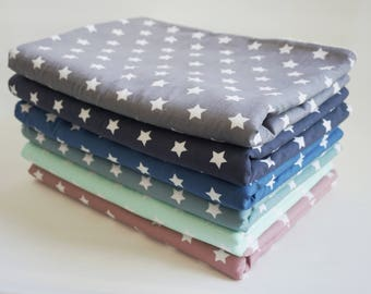 Baby Blanket * Stroller Blanket * Eco-Plush * stars