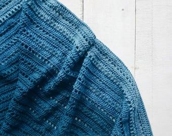 Crochet PATTERN- Ombre Shawl