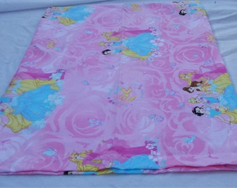 DISNEY FAIRY TALES Light Pink Girls Toddler Childs Pillowcase