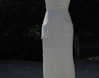 Lovely vintage knit Maxi dress