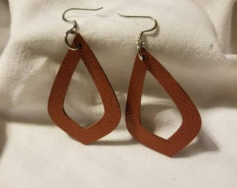 Earrings - Faux Leather