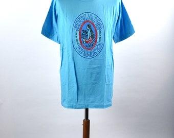 Hinano Tahiti Lager Beer T-Shirt, Size 44, 100% Cotton