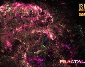 8K Fractals