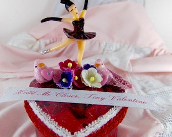 Tiny Dancer Valentines Mini Heart Box