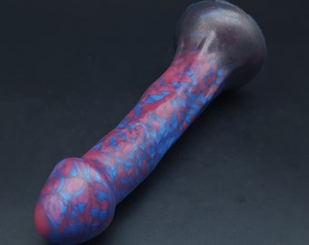"The Esteemed Gentleman 6.5"" Handmade Platinum Silicone Dildo with Suction Cup (mature)"
