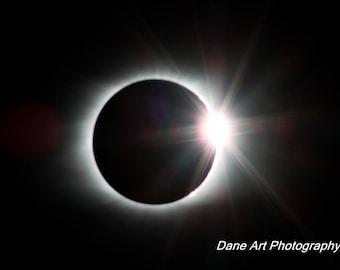 Eclipse 2017 Photo Print 11 x 14