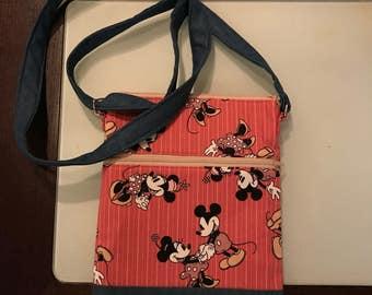 Mickey And Minnie Classic Crossbody Bag