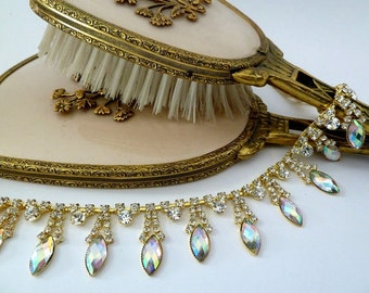 Bridal Gold Headpiece, Bridal Headpiece, Gold Headband, Wedding Headpiece