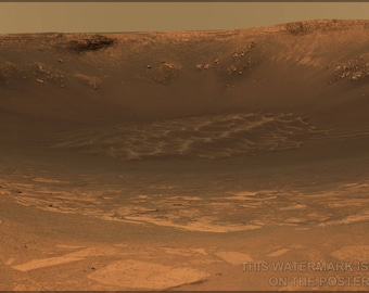 Poster, Many Sizes Available; Endurance Crater Mars Rover Opportunity