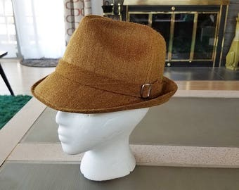 Vintage Men's Fedora Hat from Peru La Sirena