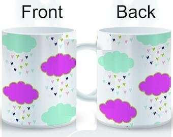 Heart Cloud Wrap Mug