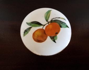Royal Worcester Round Trinket Dish - Arden