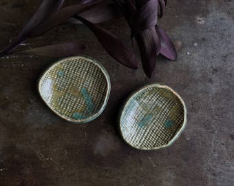 Small Emu Dishes