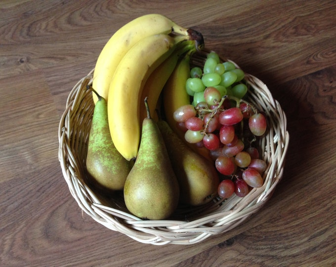 Irish Willow Display Basket - Craft Supply - Fruit Basket - Vegetable Basket - 12 inch diameter