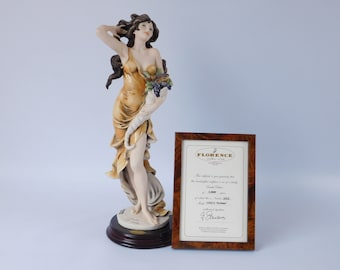 "Giuseppe Armani Florence Figurine ""Fortuna"" 1322-C Limited Edition 5,000 ~ Box and Certificate ~ Signed By Artist"