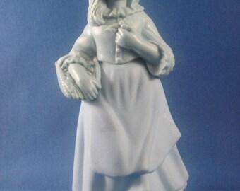 Little Girl Blue Decanter Vintage Avon